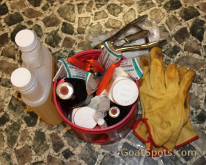 goat supplies small